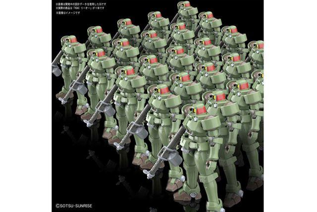 1995年に放送されたテレビアニメ「新機動戦記ガンダムW」に登場した量産型MSをキット化