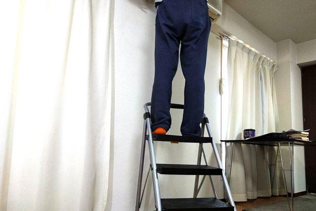 家のクーラー掃除や電気交換に重宝しています!