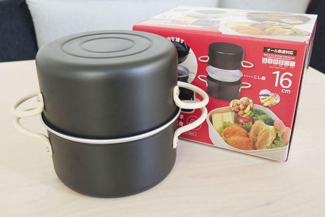 鍋とオイルポットという両方の機能を備える「オベ・フラ」。使い方は、次項で解説します