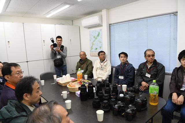 浦安ヘリポートのあるエクセル航空の会議室でオリエンテーションが行われた