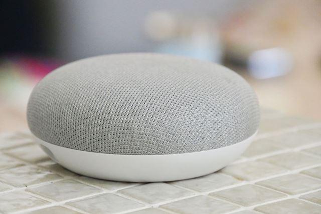 便利だけど何か物足りないスマートスピーカー(写真はGoogle Home Mini)