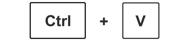 選択した状態で、CtrlキーとCキーを同時に押す。これで選択した部分がクリップボードにコピーされる