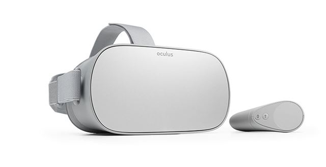 スタンドアロン型VRヘッドセット「Oculus Go」