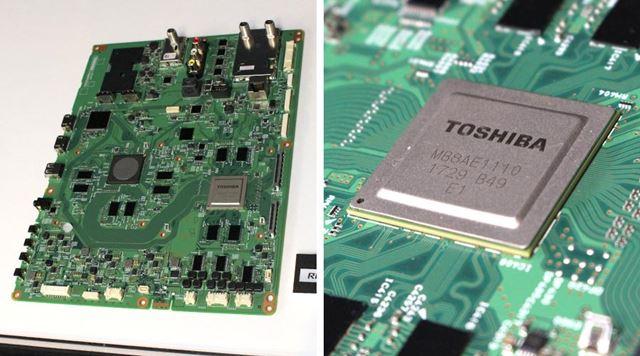 4K放送の高画質を最大限引き出すために設計された新開発の「レグザエンジンEvolution PRO」がポイント