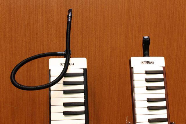 スタイルにあわせて、2種類の吹き口を使い分けられる