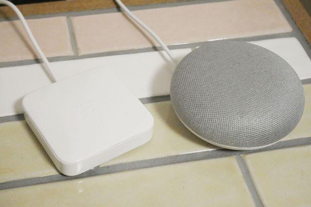スマートリモコン「Nature Remo」と「Google Home mini」で家電を音声操作