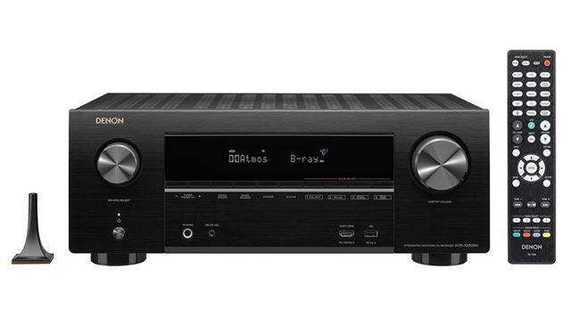 AVR-X2500Hは、2018年6月下旬発売。本体サイズは434(横)×167(縦)×341(奥行き)mmで、重量は9.4kg