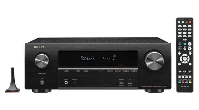AVR-X1500Hは、2018年6月中旬発売。本体サイズは434(横)×151(縦)×3439(奥行き)mmで、重量は8.6kg