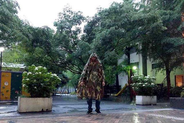 大雨の日に実際に予行演習!