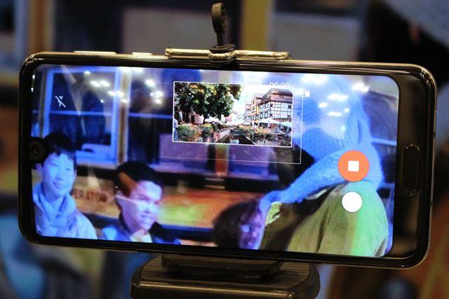 AIが判断した瞬間に自動で静止画を撮影できる。試してみたがなかなか便利そうだ