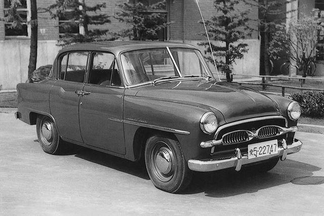 1955年に発売された、初代「トヨペット クラウン」