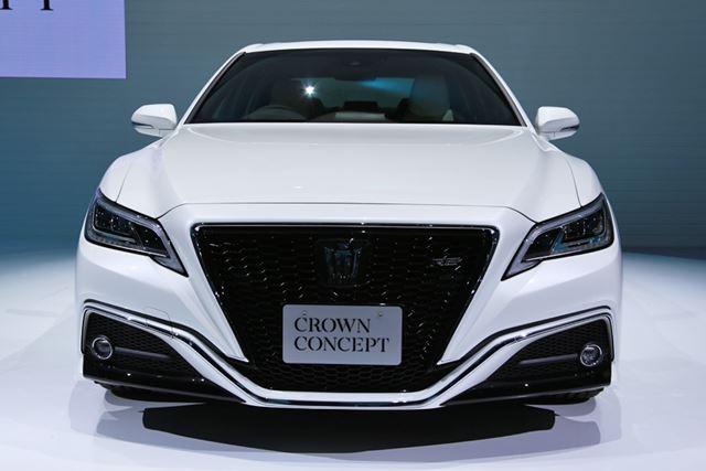 トヨタ「クラウンコンセプト」東京モーターショー2017にて撮影