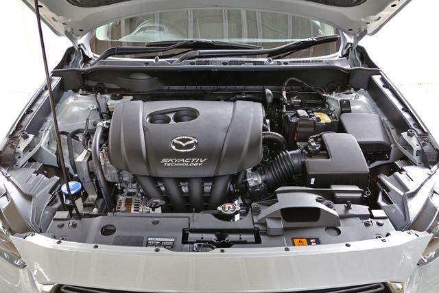 マツダ 新型「CX-3」1.8Lクリーンディーゼルエンジン