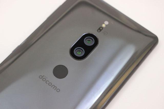 Xperia XZ2 Premiumのメインカメラはデュアルレンズ仕様だ