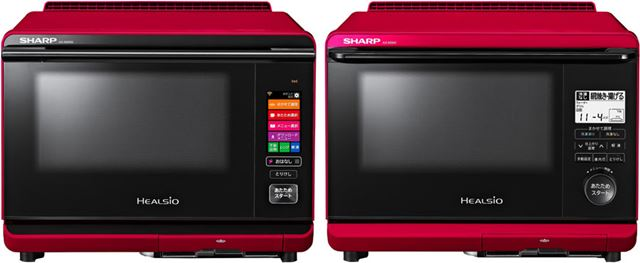 「AX-AW500」(左)と「AX-AS500」(右)は1段調理となりますが、「まかせて調理」は可能!