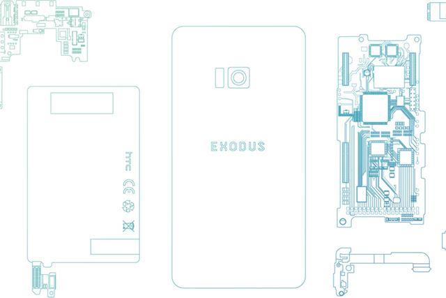 ブロックチェーン採用のスマートフォン「Exodus」は2018年内に発売予定