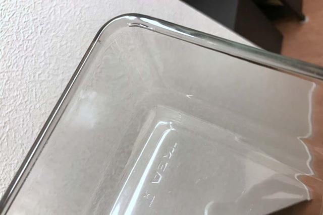 手洗いでは油汚れが残りがちな角の部分までぴかぴかです!