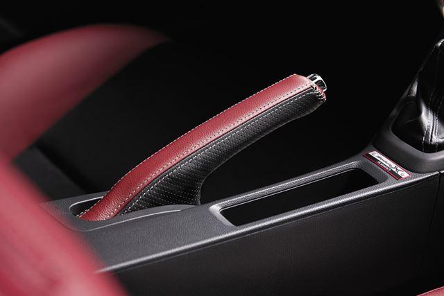 「S660 Modulo X」専用サイドブレーキカバー