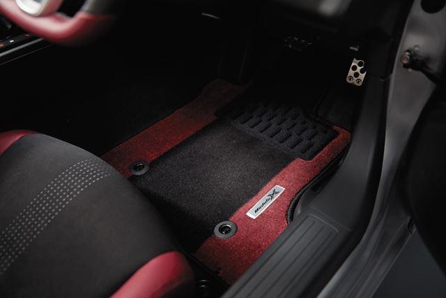「S660 Modulo X」専用フロアカーペット