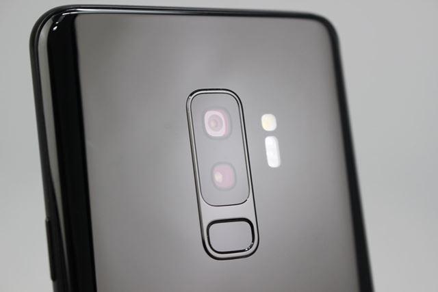 Galaxy S9+のメインカメラは、広角と標準の2個を組み合わせたデュアルカメラ仕様となっている