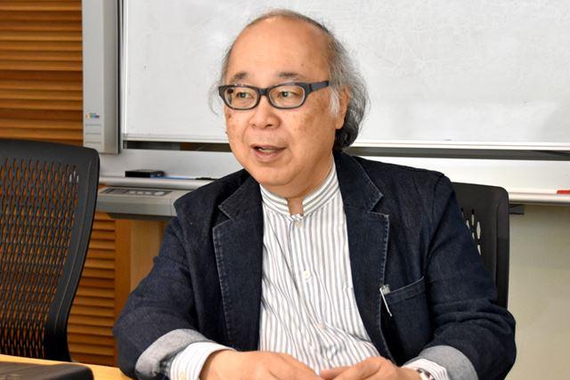 「歴史に基づいた論理的説明には、説得力がある」と竹村氏