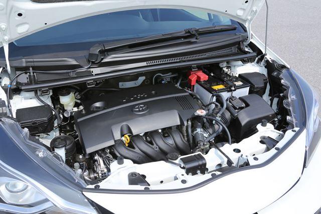トヨタ「ヴィッツ GR」には、ノーマルヴィッツと同じ1.5リッターNAエンジンが搭載されている。