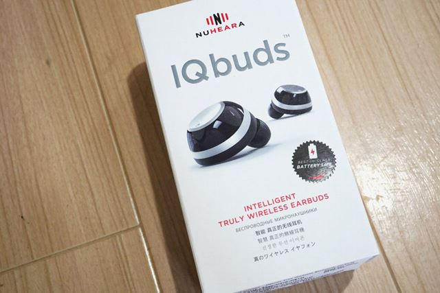 "Nuheara「iQbuds」が日本上陸。""GREEN FUNDING by T-SITE""の価格は43,070円(税込)だ"