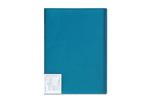 一時的に書類を保管するなど、日常的に便利な多機能ポケットがついたキングジム「FAVORITES」