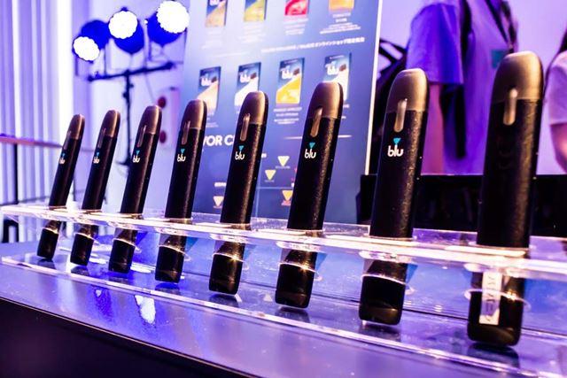 パーティー会場では、全8種類のフレーバーを試飲できるブースが作られていた