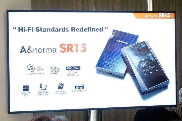 「A&norma SR15」の概要