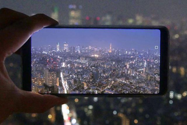 特大イメージセンサーとAI手ブレ補正で夜景も手持ちできれいに撮れるファーウェイ「P20 Pro」