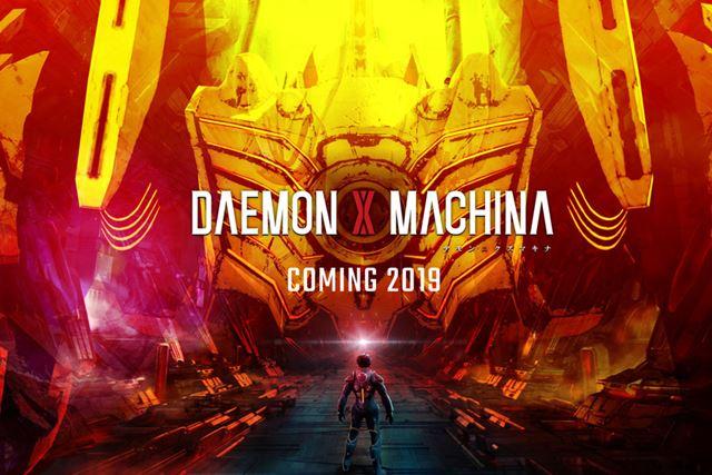 佃氏によるメカアクションゲーム「DAEMON X MACHINA」