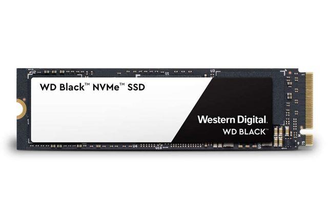 「WD Black NVMe SSD」