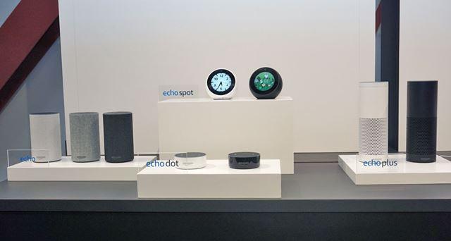 Amazon Echoシリーズに新たに投入されたEcho Spotは、シリーズ初のディスプレイ搭載モデル