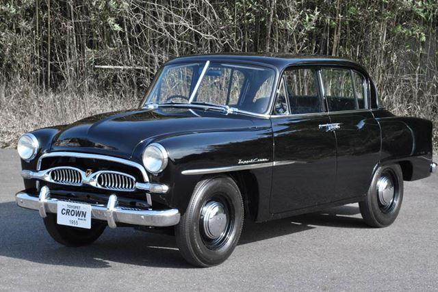 1955年に発売された初代「クラウン」