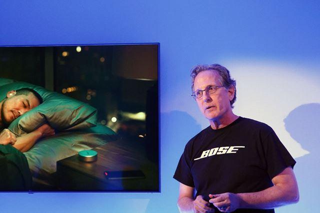 米Boseのチーフ・ブランド・オフィサー、Ken Jacob氏による製品解説
