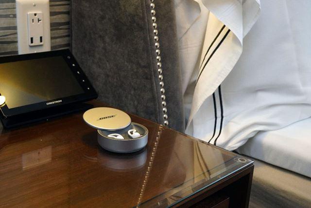 基本的に屋外利用は想定せず、ベッドルームが主な利用シーンになる