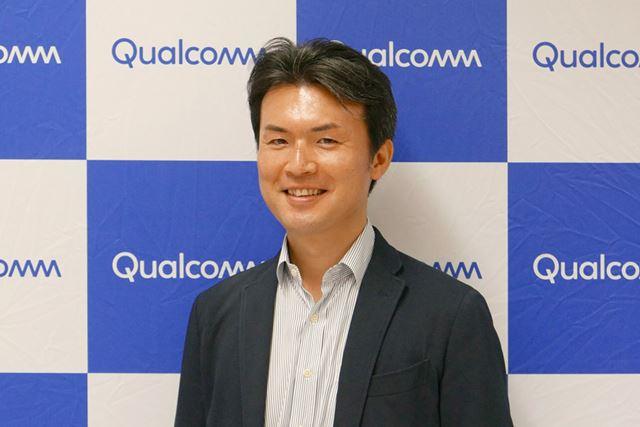 お話を聞かせていただいた、Qualcomm CDMAテクノロジーズ マーケティングマネージャー 大島勉氏