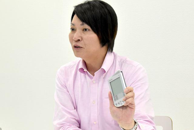 """「今のスマートフォンには、PDAに関わった""""人""""というDNAが残っている」と久保氏は断言する"""