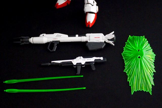 付属武装です。大型のビーム・ランチャーも付属