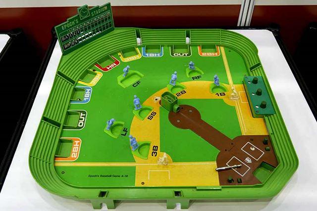 1974年発売「野球盤AM型」累計300万台以上という、最も売れたシリーズ。ウチにもコレがあった!