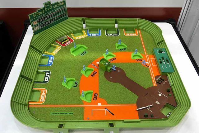 1978年発売「野球盤AM型人工芝球場」時代に合わせていろいろ変化してるんですねぇ