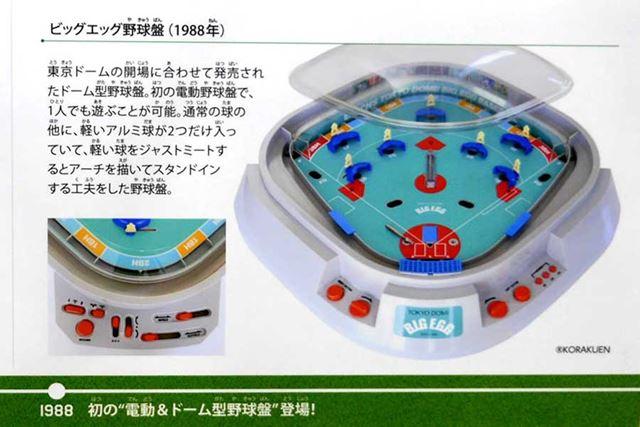 1988年発売「ビッグエッグ野球盤」