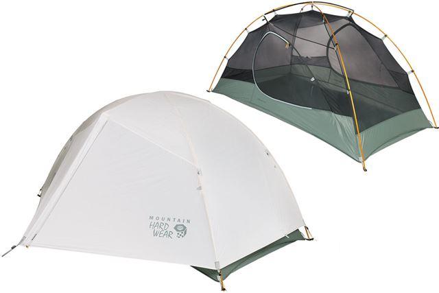 テントの収納サイズは、19(直径)×61(長さ)cmで、最小重量は1.61kg、ピッチライト重量は1.12kg