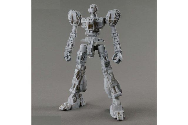 新規造形の「MS内部フレーム」を採用。量産機を象徴する内部骨格を再現できる