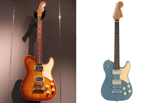 「Ice Tea Burst」(左)と「Ice Blue Metallic」(右)の2色をラインアップ