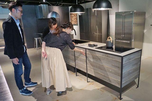 「パティーナ・キッチン」(Pattina Kitchen)。価格は33万4500円から