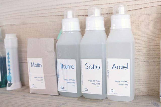 開発中のオリジナル洗剤