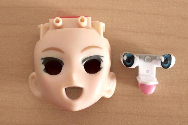 ここに同様の瞳パーツと、口パーツを組み合わせると