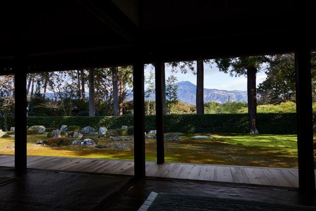 京都・幡枝 円通寺の庭